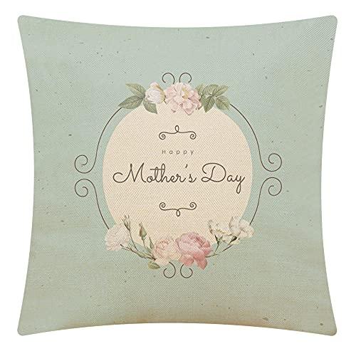 Light Blue Pillowcase Throw Pillow Cover, Cotton Linen Square Cushion Cover Standard Pillowcase For Men Women Home Decorative Sofa Armchair Bedroom Livingroom 18 X 18 Inch