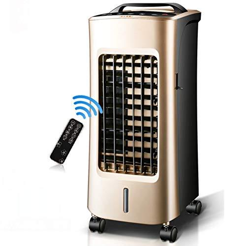 AC-Cooling Refroidissement Unités Ventilateur de climatiseur silencieux et sans lame, refroidisseurs à évaporation Avec télécommande Utilisation double pour refroidisseur d'air froid et chaud Refroidi