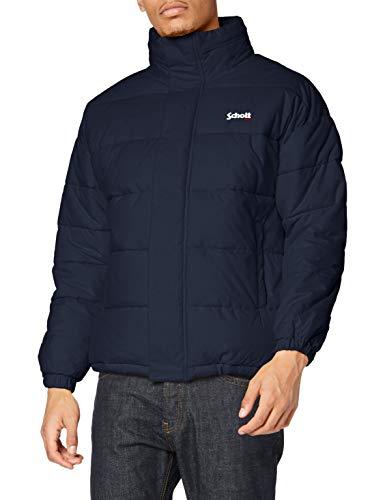 Schott Nyc Blouson Homme, Bleu (Navy Navy), Taille Fabricant: XS Homme
