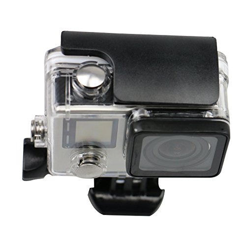 Lcrystal Waterproof Protective Housing Case + Anti-fog Inserts for GoPro HERO4 Silver/GoPro HERO4 BLACK/GoPro Camera HERO3+