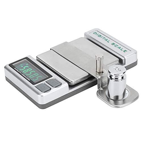 sjlerst Weight Meter Stylus, Präziser Digital Stylus Needle Manometer Manometer für Plattenspieler-Plattenspieler, Genauigkeit bis 0,01 g, mit automatischer Alarmfunktion