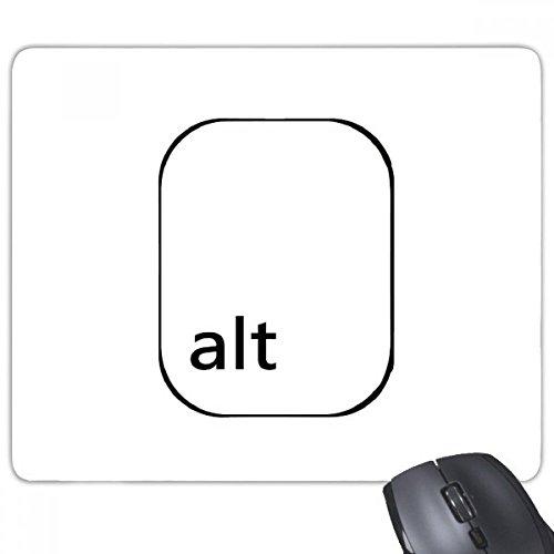 beatChong Goma Mousepad del Juego Alfombrilla de ratón Regalo símbolo Teclado Alt rectángulo Antideslizante