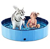 Jasonwell Foldable Dog Pet Bath Pool Collapsible Dog Pet Pool Bathing...