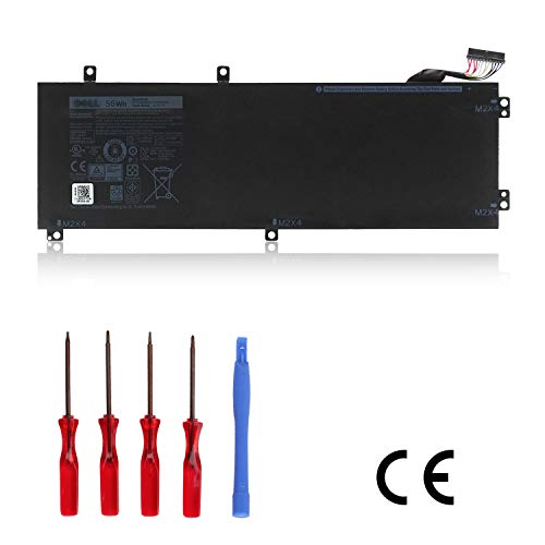 Ouside H5H20 Laptop Battery (56Wh) Compatible with XPS 15 9560, Precision 5520/ M5520/ 62MJV/ M7R96 Series OEM Quality