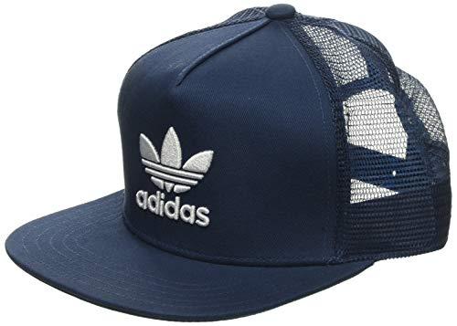 adidas Trefoil Trucker Gorra de Tenis, Hombre, Azul (azubri/Blanco), Talla Única