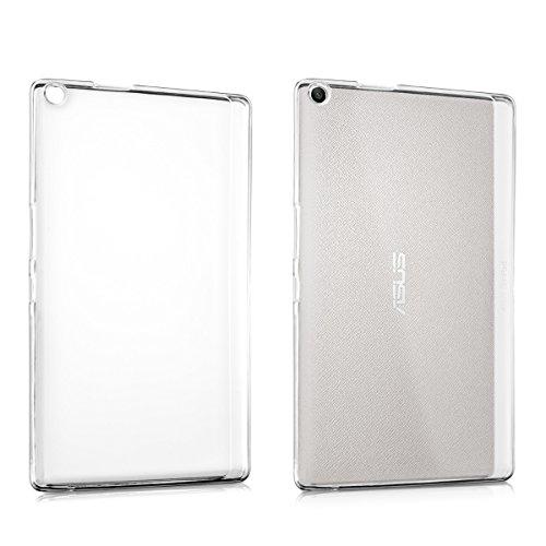 kwmobile Funda Compatible con ASUS ZenPad 8.0 Z380KL/Z380C/Z380M - Carcasa para Tablet de Silicona TPU - Cover en Transparente