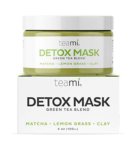 Teami - Mascarilla de limpieza facial con arcilla bentonita para una limpieza natural e hidratante de la piel seca que elimina las manchas antioxidantes, antienvejecimiento, hidratante