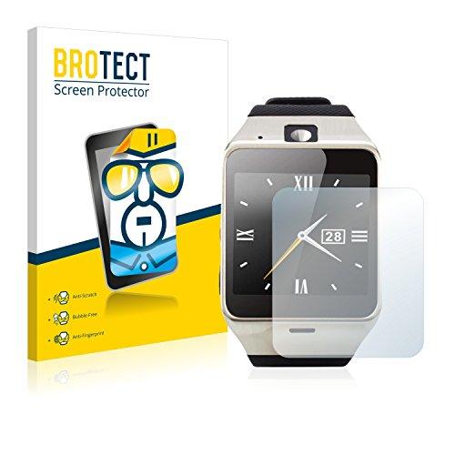 BROTECT Schutzfolie kompatibel mit Tera Aplus (2 Stück) klare Displayschutz-Folie