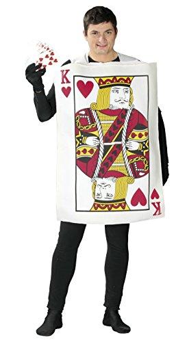 Guirca 80769.0 Déguisement de roi de carte pour adulte Taille 52-54