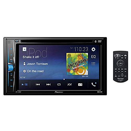 Pioneer AVH-A205BT Touch-screen AV Multimedia player with Bluetooth, iPod/iPhone, USB & Aux-In, 6.2″