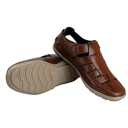 BATA Men's Brown Fashion Sandal