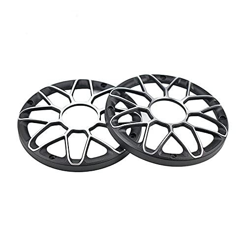 Wnuanjun 1 Paare 6 Zoll 6.5 Zoll Subwoofer Auto Lautsprecher Grill Mesh-Gehäuse Aluminiumwoofer Net Lautsprecher Metall Schutzabdeckung DIY