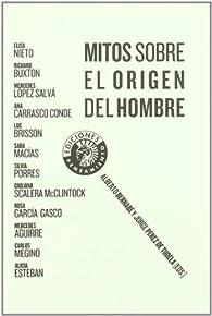 Mitos Sobre El Origen Del Hombre par Alberto Bernabé