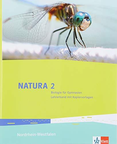 Natura Biologie 2. Ausgabe Nordrhein-Westfalen: Lehrerband mit Kopiervorlagen und DVD-ROM Klassen 7-9 (Natura Biologie. Ausgabe für Nordrhein-Westfalen Gymnasium, Gesamtschule ab 2016)