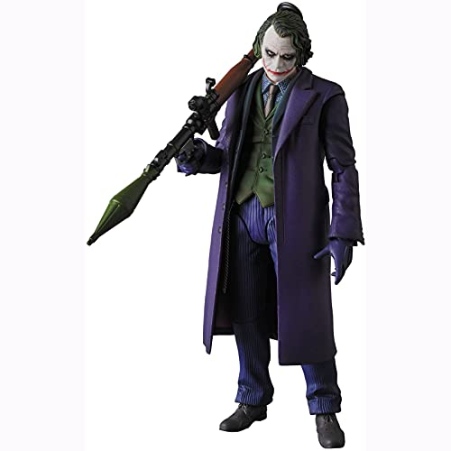 Yuxunqin The Dark Knight:Joker Maf Ex 6 Pulgadas versión 2.0 Figuras de acción de la Estatua de PVC