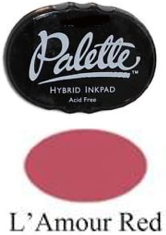 Stewart Superior -- Max 87% OFF Palette Hybrid Ink L'Amore 100% quality warranty! Red Pad
