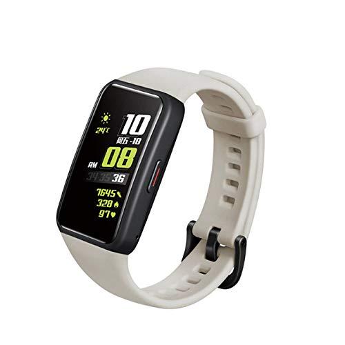 Correa de repuesto compatible con Honor 6, pulsera de silicona suave, accesorios de reloj inteligente, pulsera de liberación rápida de tamaño ajustable