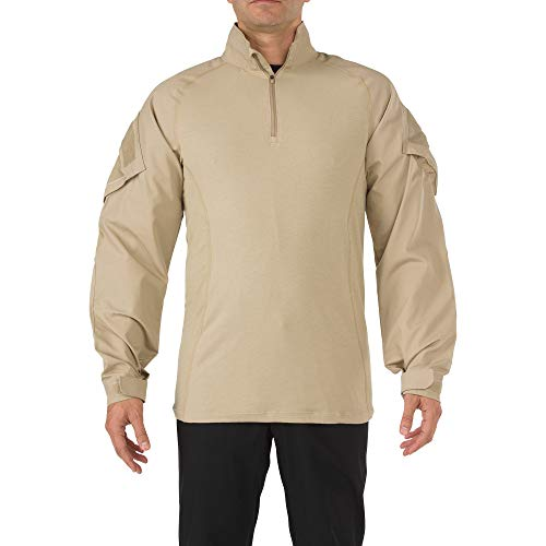 5.11 Tactical Rapid Assault Chemise Homme, Sable, FR (Taille Fabricant : XXL)