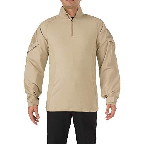 5.11 Tactical Rapid Assault Chemise Homme, Sable, FR : L (Taille Fabricant : L)