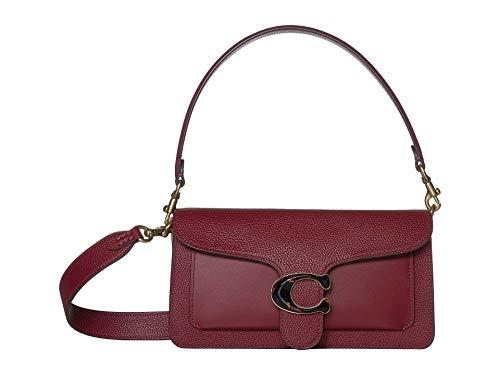 COACH Tabby 26 - Bolso bandolera (latón), color rojo