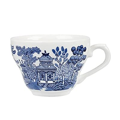 Churchill Blue Willow Dinnerware (Tea Cup 6.8 Oz)