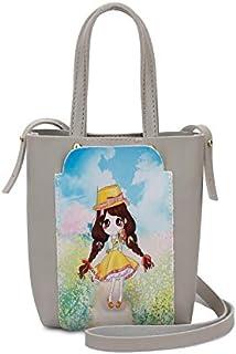 YUEJIN Bag For Girls,Grey - Shoulder Bags