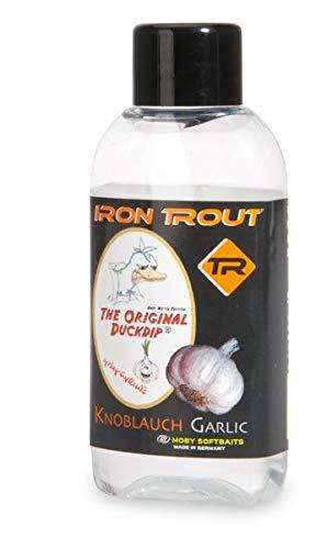 Sänger Top Tackle Systems Iron Trout Duckdip (Dip für Forellenköder Duckfoot/Ducktail), Geschmacksrichtung:Knoblauch