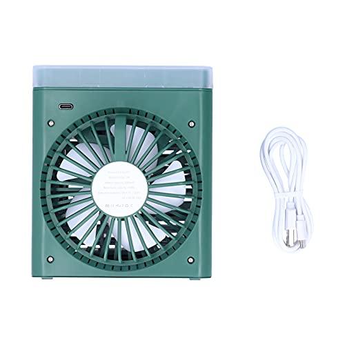 Raffreddatore D'aria Personale 2 in 1, Condizionatore Evaporativo Portatile, Piccola Ventola di Raffreddamento da Tavolo, Mini Ventilatore per Condizionatore D'aria per Casa, Camera da Letto, Ufficio