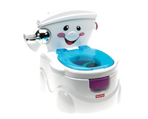 Fisher-Price La Mia Prima Toilette, Vasino per Bambini con 2 Diverse modalità di Utilizzo e Tanti Dettagli Realistici, P4328
