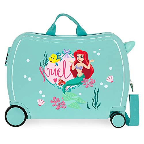 Disney Princess Celebration Adaptable Toiletry Bag, Blue, 29 x 21 x 15 cm, Rigid ABS 9.14 L