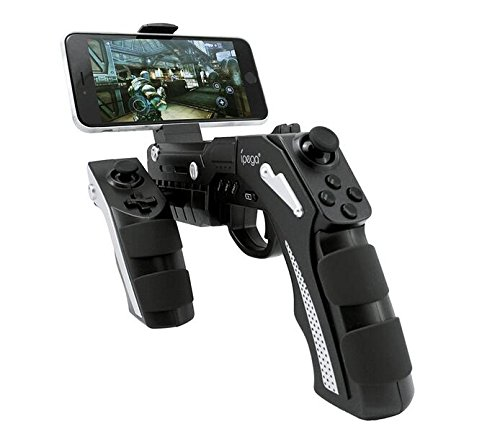 IPEGA pg-9057 Phantom Shox Blaster Bluetooth Gun Game Controller Wireless Bluetooth 3.0 mit Ständer für Android 3.2 IOS 7.0 Vor Smartphones Tablet PC Win7 Win8 win10 Computer