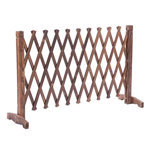 Fence H-Zaun Staketenzaun Der Ausbau Zaun aus Holz Teleskop Balkon Zaun Außenpatio dekorativer Zaun Partition
