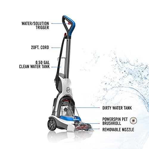 Hoover PowerDash Pet Carpet Cleaner, FH50700