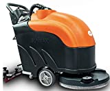 Battery Powered Floor Scrubber Dryer, 22' Brush, 31' Squeegee Width, 14.5 gal Tank, Brush Speed 200 RPM, Automatic Floor Scrubber with a Complete Set of Parts