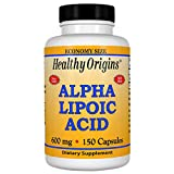 Healthy Origins Alpha Lipoic Acid 600mg 150 Capsule