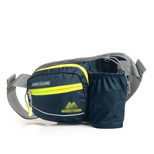 Bolsillos impermeables con cremallera y en la cintura for damas bolsos de viaje for correr for hombres bolsos de viaje for hombres y mujeres impermeables deportes al aire libre Bolsillo de alpinismo f