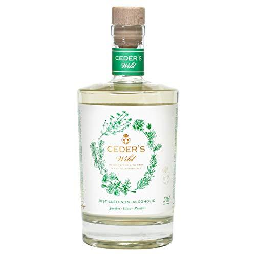CEDER's Wild – Alkoholfreier Gin aus Schweden – Die alkoholfreie Alternative zu Gin – 1 x 0,5L
