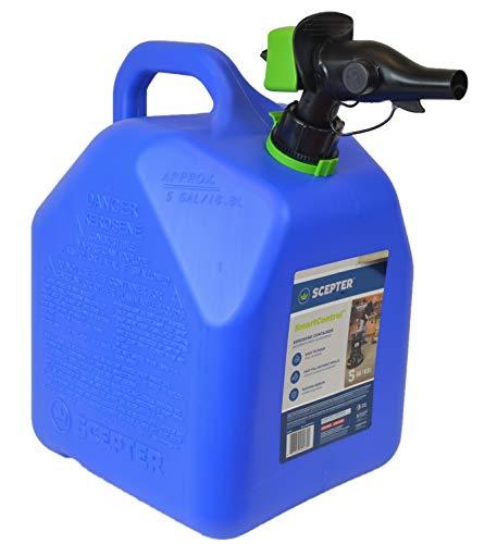 Scepter FR1K501 SmartControl Kerosene Can, 5 Gallon, Blue
