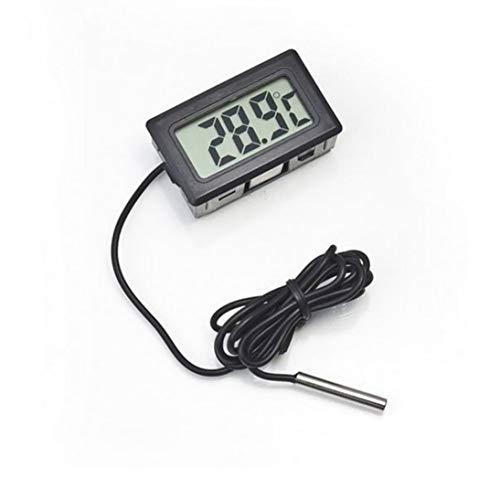 WEIHAN Diseño Práctico LCD Digital Sonda de Refrigerador Congelador Termómetro Interior Sensor Medidor Termógrafo Para Refrigerador