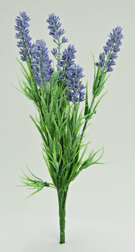 Deko im Trend Lavendelzweig aus Kunststoff, 1812-135901