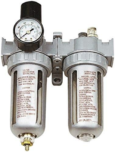 Filtre régulateur de pression AFRL80 avec poignée, filtre anti-condensation et huile.