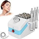 Máquina de microdermoabrasión de diamantes para la cara Equipo de microdermoabrasión de dermoabrasión profesional, masajeador antiarrugas de limpieza de rejuvenecimiento facial 3 en 1(EU plug)