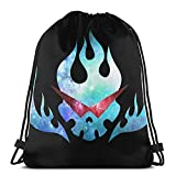Anime & Super Tengen Toppa Gurren Lagann Flag Classic Drawstg Bag Sports Fitness Bag Travel Bag Gift Bag