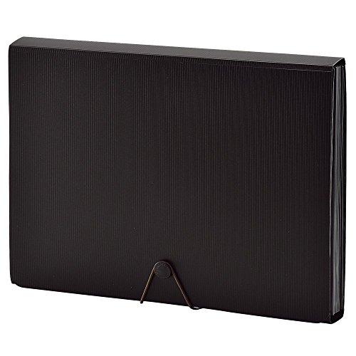 リヒトラブ ドキュメントファイル A4 ブラック A-7620-24 【まとめ買い3冊セット】