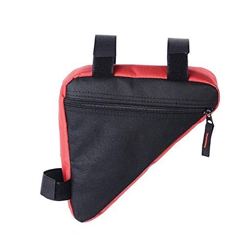 Bolsa de sillín de ciclismo Camino de MTB de la bicicleta bolsas del armazón delantero del bolso del triángulo bolso de la bicicleta a prueba de agua Holder Accesorios de bicicletas Bolsa de bicicleta