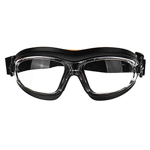 HJKH Gafas Protectoras para Adultos Polvo de Choque del Viento Resistente a los ácidos Aerosoles químicos Salpicaduras de Pintura Anteojos de protección Gafas de Seguridad en el Trabajo