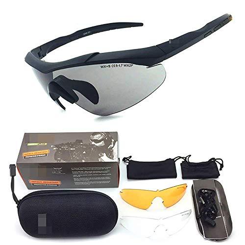 WFBD-CN Casco de Motocicleta H.Y.B.Ciclismo Gafas de Sol Gafas de Sol del...
