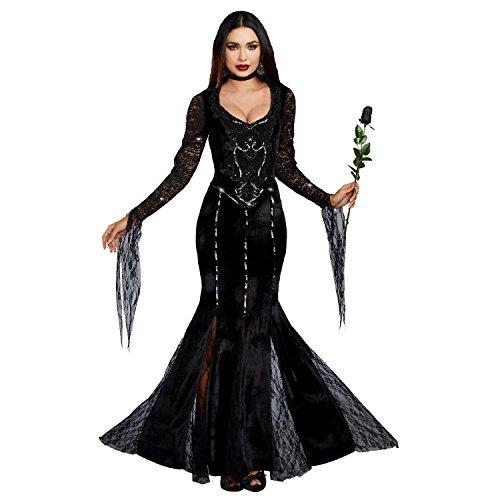 Dreamgirl Women's Frightfully Beautiful, Black, S