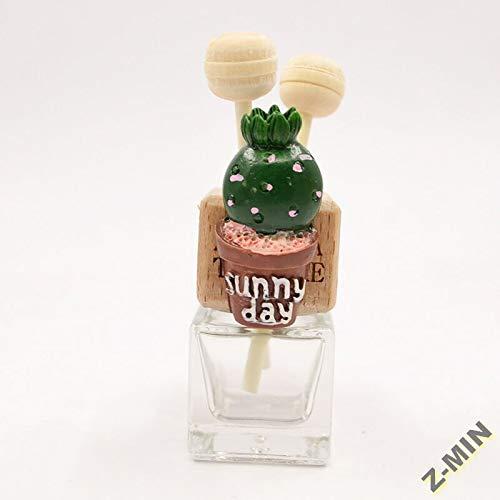 Z-MIN Cactus Auto Klimaanlage Outlet Clip Innen Auto Outlet Dekoration, Explosion Kopf Kaktus (ohne Parfüm)