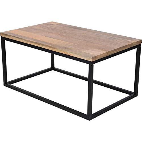 Home @ Styling Collection Rechthoekige salontafel, mangohout 100 x 60 x 48 cm